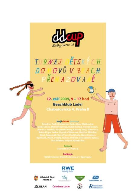 DDCUP beachprehazovana 2009 PLAKAT A2